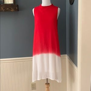 Altar'd State NWT That's The Spirit Dress Red Med